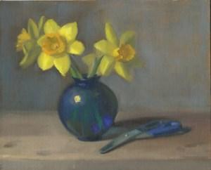 daffodils-and-scissors